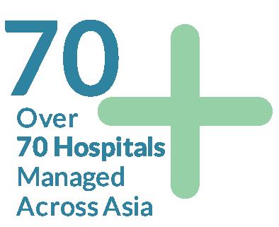 70 hospitals
